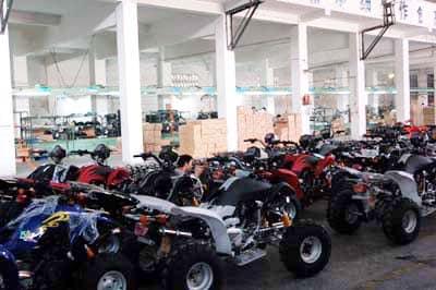 L'industrie du motocycle :
