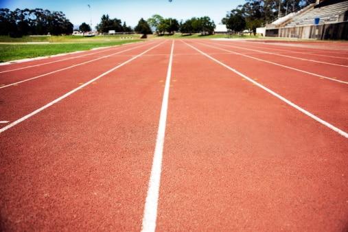 Construire une piste d'athlétisme