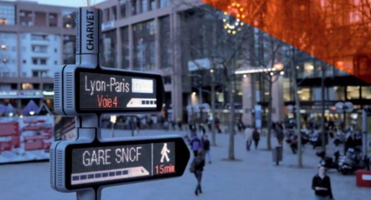 iGirouette® révolutionne la signalétique urbaine !