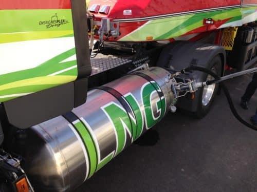 Le carburant GNL dans le domaine du Transport